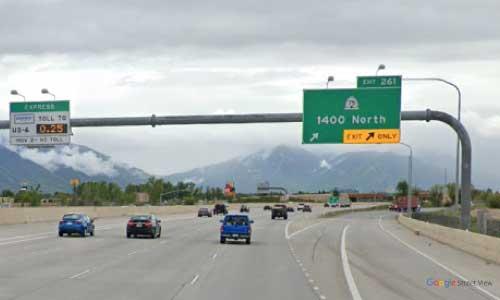 ut i15 utah springville rest area southbound mile marker 261