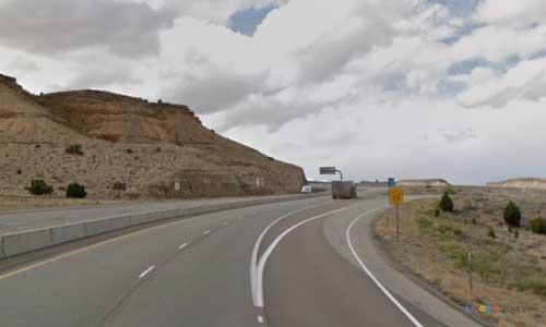 ut i70 utah black dragon view rest area westbound mile marker 141